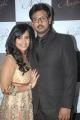 Dayanidhi Alagiri with wife Anusha at NEFERTARI Fashion show stills