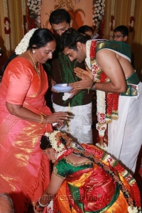 KR Vijaya at Sneha & Prasanna Wedding Photos