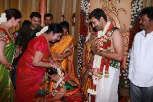 Manjula Vijaykumar at Sneha & Prasanna Wedding Photos
