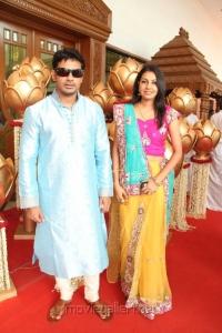 Celebs at Sneha & Prasanna Wedding Function Stills