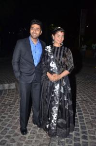 Rahul Ravindran, Chinmayi at 64th Filmfare Awards South 2017 Red Carpet Photos