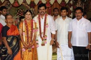 Rajesh @ Actor Karthi Ranjani Marriage Photos