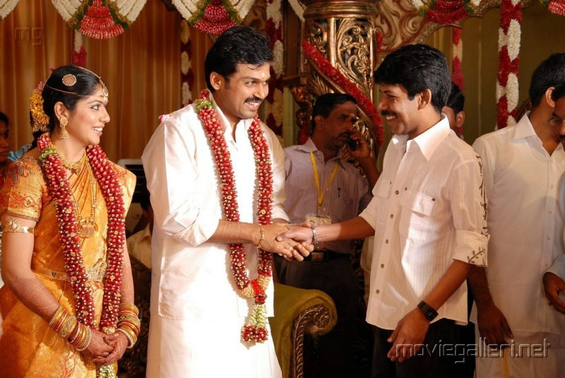 Director Bala Karthi Ranjani Marriage Photos