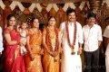 Director Bala with his Wife at Karthi Ranjani Marriage Photos