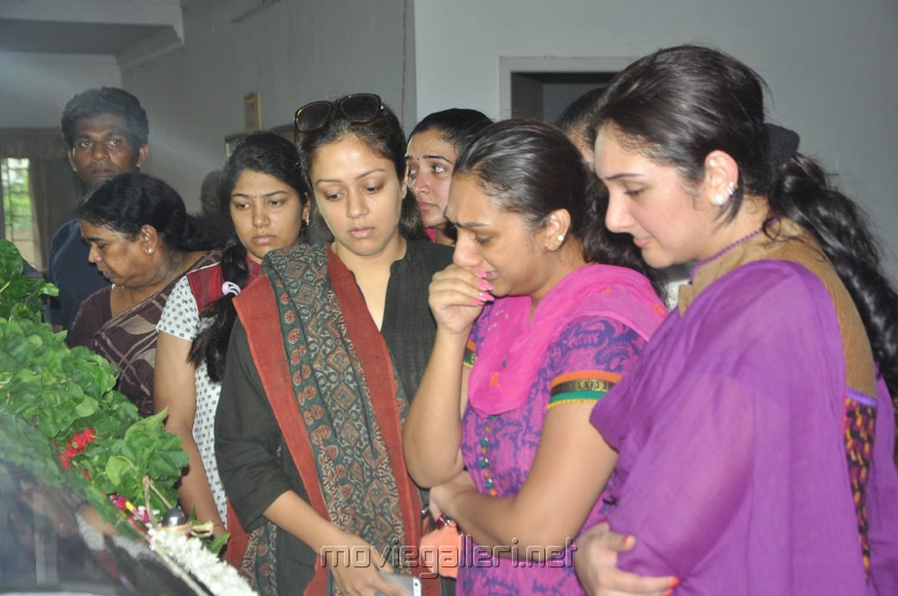 Picture 520468 | Jyothika, Preetha, Sridevi Pay Last ...
