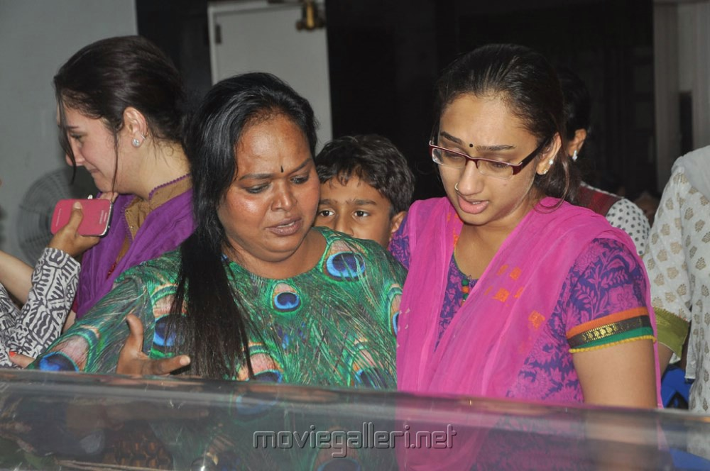 manjula vijayakumar family members