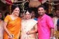Actress Jyothika @ Shobi - Lalitha Baby Shower Function Stills