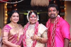 Actress Seetha @ Shobi - Lalitha Baby Shower Function Stills