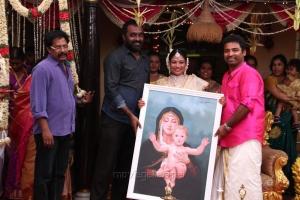 AP Shreethar @ Shobi - Lalitha Baby Shower Function Stills