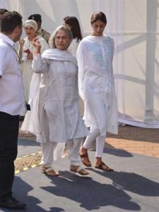 Jaya Bachchan Visit Sridevi Condolence Meet Photos