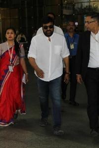 Chiranjeevi Visit Sridevi Condolence Meet Photos