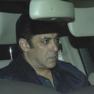 Salman Khan Visit Sridevi Condolence Meet Photos