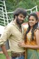 Actor Chaitanya, Actress Chandni at Kaali Charan Opening Stills