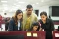 Srushti Dange, Vishal, Shraddha Srinath in Chakra Movie HD Images
