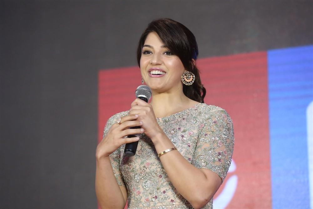 Actress Mehreen Pirzada @ Chanakya Movie Trailer Launch Photos