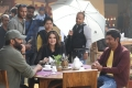 Gopichand, Zareen Khan, Thiru @ Chanakya Movie Working Stills