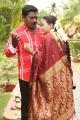 Karunas, Swetha Basu in Chandamama Tamil Movie Photos