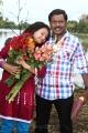 Shweta Prasad, Karunas in Chandamama Movie Photos