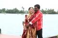 Swetha Basu, Karunas in Chandamama Movie Photos