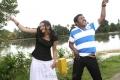 Swetha Basu Prasad, Karunas in Chandamama Movie Photos