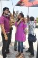 Harish Kalyan, Swetha Prasad at Chandamama Movie Shooting Spot Stills