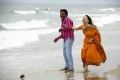 Karunas, Swetha Basu Prasad in Chandamama Movie Stills