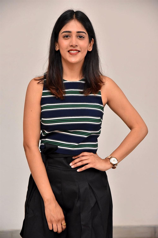 Actress Chandini Chowdary Pics @ Sucheta DreamWorks Productions Movie Opening