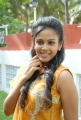 Beautiful Chandini in Yellow Dress at Kalicharan Movie Launch