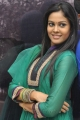 Telugu Actress Chandni Cute Photos in Green Dress