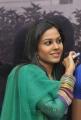 Telugu Actress Chandni Cute Photos in Green Dress
