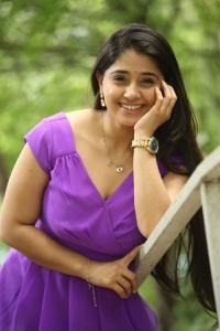 Actress Chandni Bhagwanani Pics @ Andamaina Lokam Movie Opening