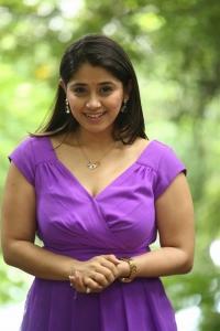 Actress Chandni Bhagwanani Pics @ Andamaina Lokam Movie Launch