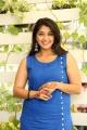 Actress Chandni Bhagwanani HD Images in Blue Dress