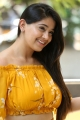 Diksoochi Actress Chandni Bhagwanani Yellow Dress Pictures