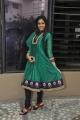 Chandini Tamilarasan Cute Stills in Green Salwar Kameez