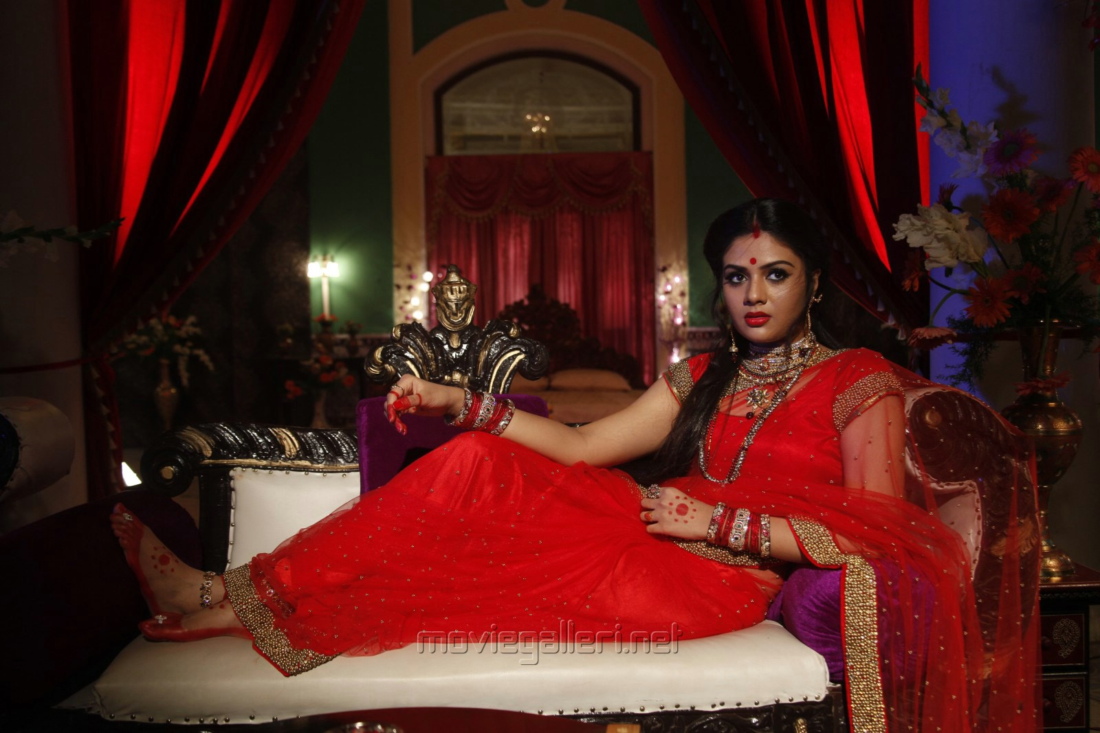 ...   Actress Srimukhi in Chandrika Movie Photos   New Movie Posters