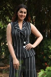 Actress Nikki Galrani @ Charlie Chaplin 2 Press Meet Photos