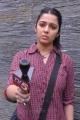 Telugu Actress Charmi Photos at Pratighatana Shooting Spot
