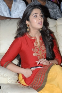 Actress Charmi in Red Dress Cute Stills