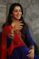 Actress Charmy Interview Photos about Jyothi Lakshmi Movie