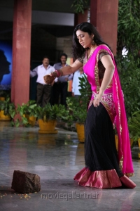 Charmme Cute Photos in Pink Langa Voni @ Saradaga Ammaitho