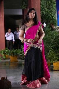 Saradaga Ammayitho Charmi Cute Photos in Pink Langa Voni