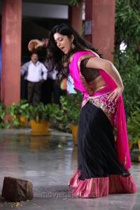 Saradaga Ammaitho Actress Charmi Cute Photos in Pink Saree