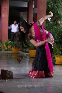Cute Charmi Photos in Pink Langa Voni