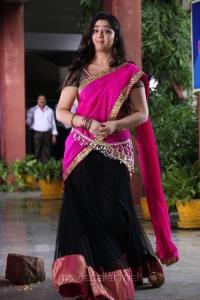 Charmi Cute Photos in Pink Langa Voni @ Saradaga Ammayitho