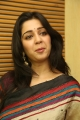 Actress Charmme Kaur Stills in Multi Color Printed Saree