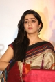 Actress Charmy Kaur Stills in Multi Color Printed Saree