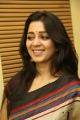 Actress Charmi in Multi Color Printed Saree Stills
