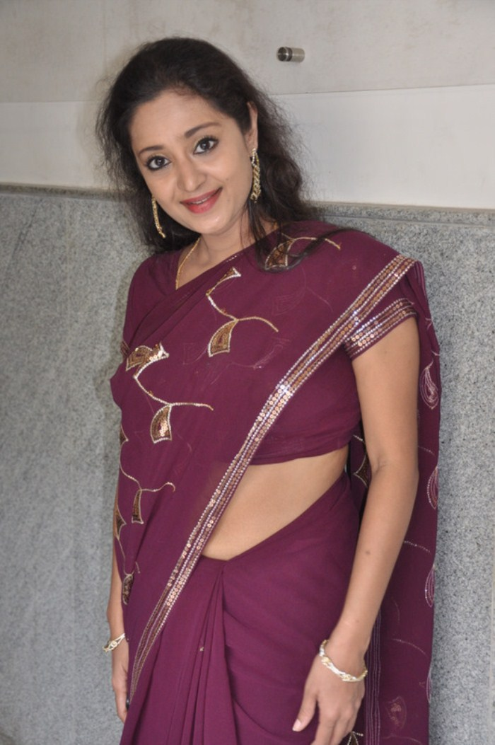 Charmila Hot Saree Gallery