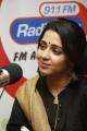 Jyothi Lakshmi Charmme Kaur at 91.1 FM Radio City